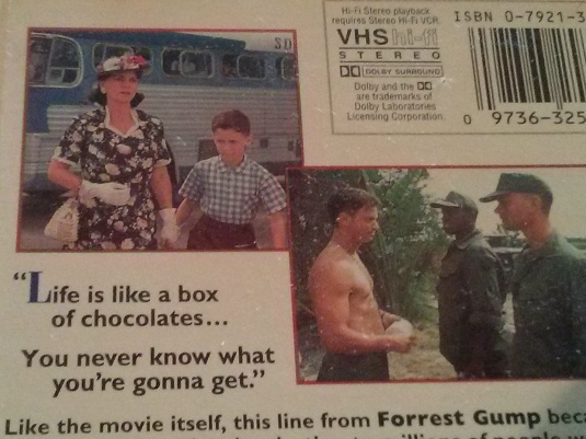 VHS tape from the 90's