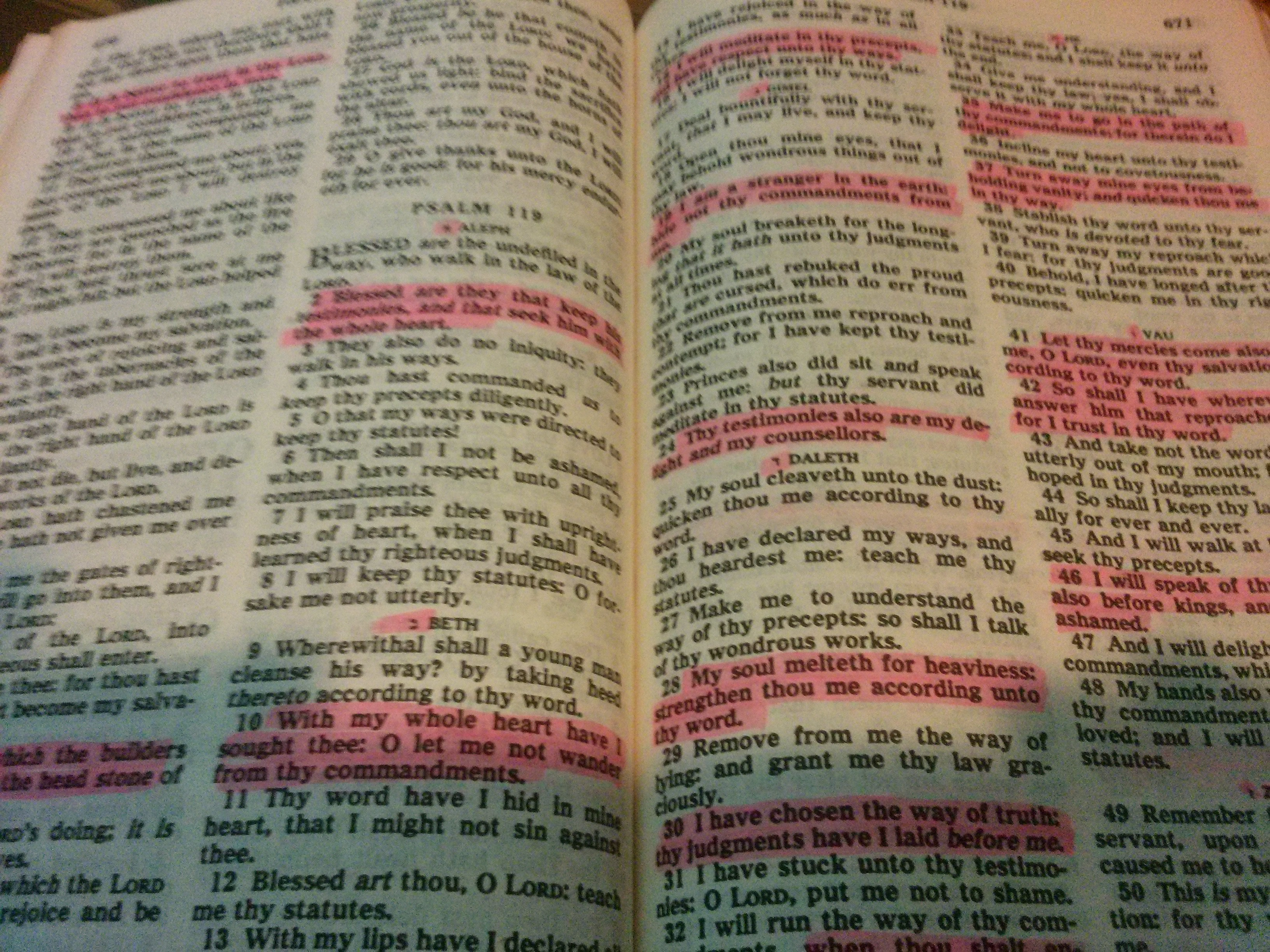 bible chapters and verses list pdf